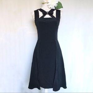 Nipon Boutique // Bow Caplet Formal Cocktail Dress